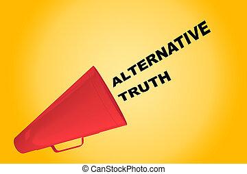 Alternative Truth concept