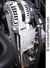 Alternator Elements in a Car