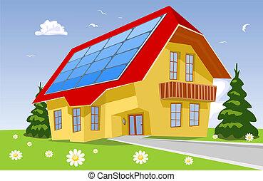 alternatywa, słoneczny system, moc, energia