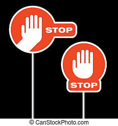 alternatywa, zatrzymywać, drogowe oznakowanie