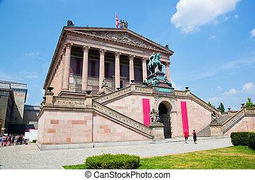 altes, alemania, museum., berlín
