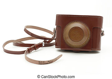 altes , antikes , foto, cameras, tasche