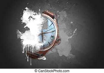 altes , armbanduhr