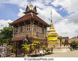 pagode asiatisch gold architektur pagode design kunst asian aufbau. Black Bedroom Furniture Sets. Home Design Ideas
