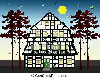altes , bauernhofhaus