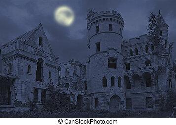 altes , gotische , rittergut