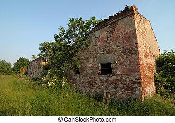 altes , ländlich, bauernhof