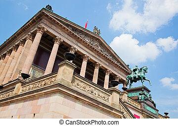 Altes Museum. Berlin, Germany