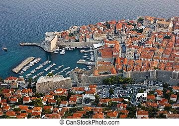 altes , porto , von, dubrovnik, in, kroatien
