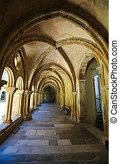 altes , portugal, velha, coimbra, kathedrale, oder