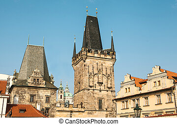 altes , prague., architektur