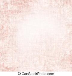 altes , rosa, weinlese, beschaffenheit, hintergrund
