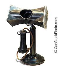 altes telefon, für, gebrauch, in, laut, areas.
