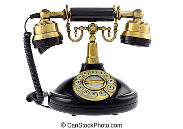 altes telefon, gestaltet