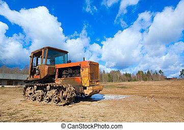 altes , traktor