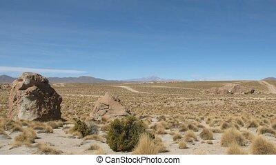 Altiplano time lapse - Altiplano , Potosi area , Bolivia