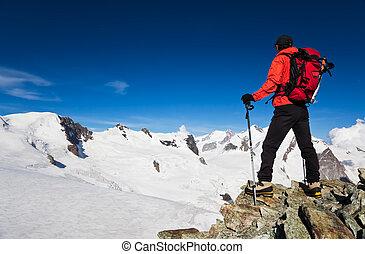 altitud alta, excursionismo