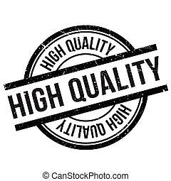 alto, estampilla, calidad