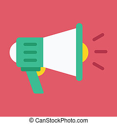 alto-falante, vetorial, ícone