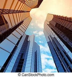 alto, grattacielo