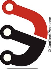 alto, logotipo, tecnologia