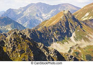 alto, polonia, tatra, montagne
