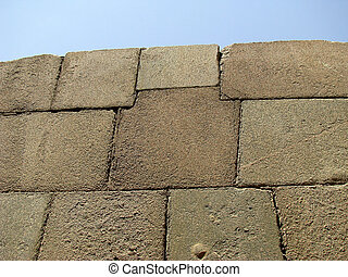alto, precisão, construção, em, granito