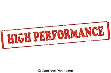 alto, rendimiento