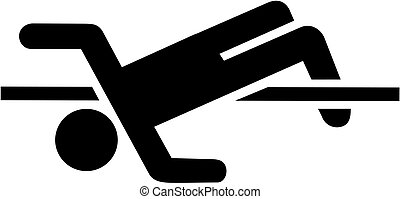 alto salto, pictogram