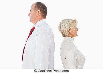 altro, standing, coppia, non, prospiciente, più vecchio, ciascuno