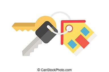 alugando, casa, vender, tecla