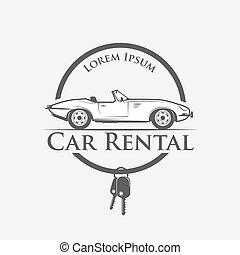 aluguel carros, logotipo