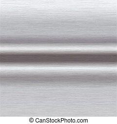 alumínio, escovado, superfície