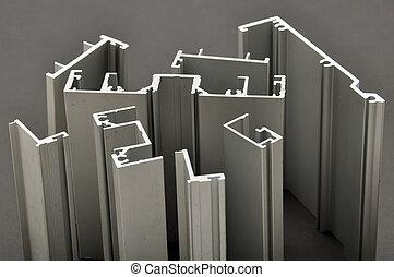 alumínio, perfil
