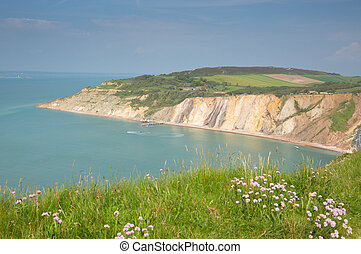 Alum Bay Isle of Wight by Needles