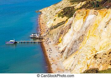 Alum Bay The Needles Isle Of Wight