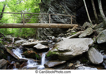 Alum Cave Bluffs Trail in Great Smokey Mountains National ...