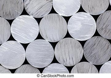 aluminium, стержень, круглый