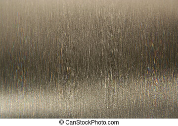 aluminium, geborstelde, achtergrond, textuur