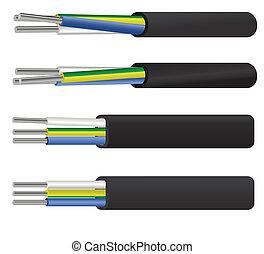 aluminium, kabel