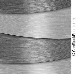 Aluminium plate background - Abstract silver aluminium plate...