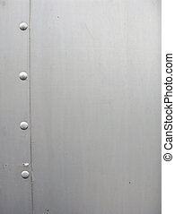 Aluminium Texture - Aluminium Bolts and sheet metal