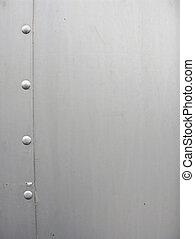 Aluminium Texture - Aluminium Bolts and sheet metal