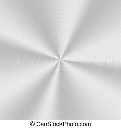 aluminium, texture