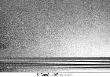 aluminium, textuur, achtergrond
