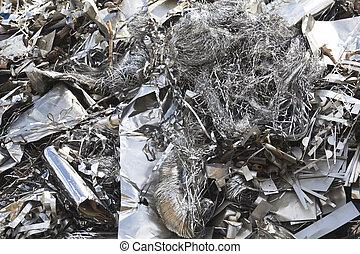 Aluminium waste