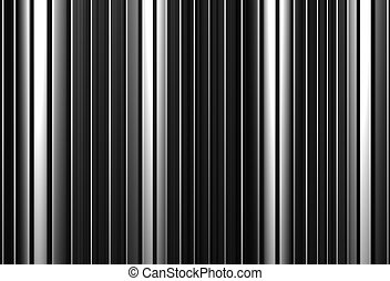 Aluminum abstract silver straight stripe pattern background