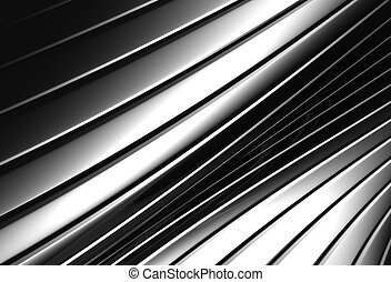 Aluminum abstract silver stripe pattern background 3d...