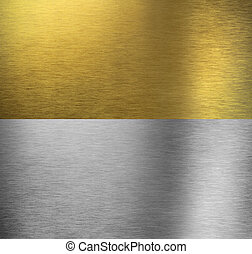 Aluminum and brass stitched textures - Aluminum and brass...