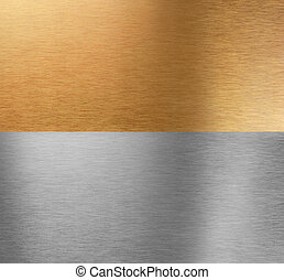 Aluminum and bronze stitched brushed textures - Very sharp...